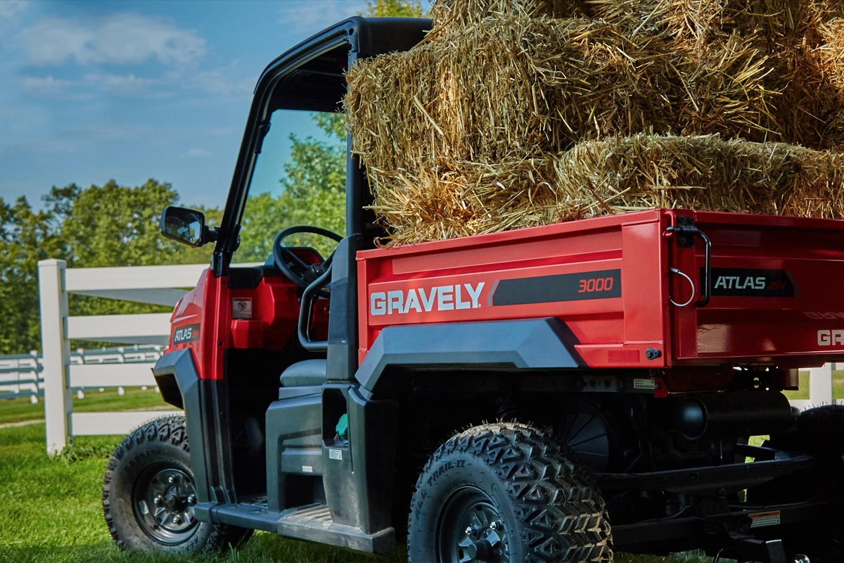gravely atlas jsv vehicle