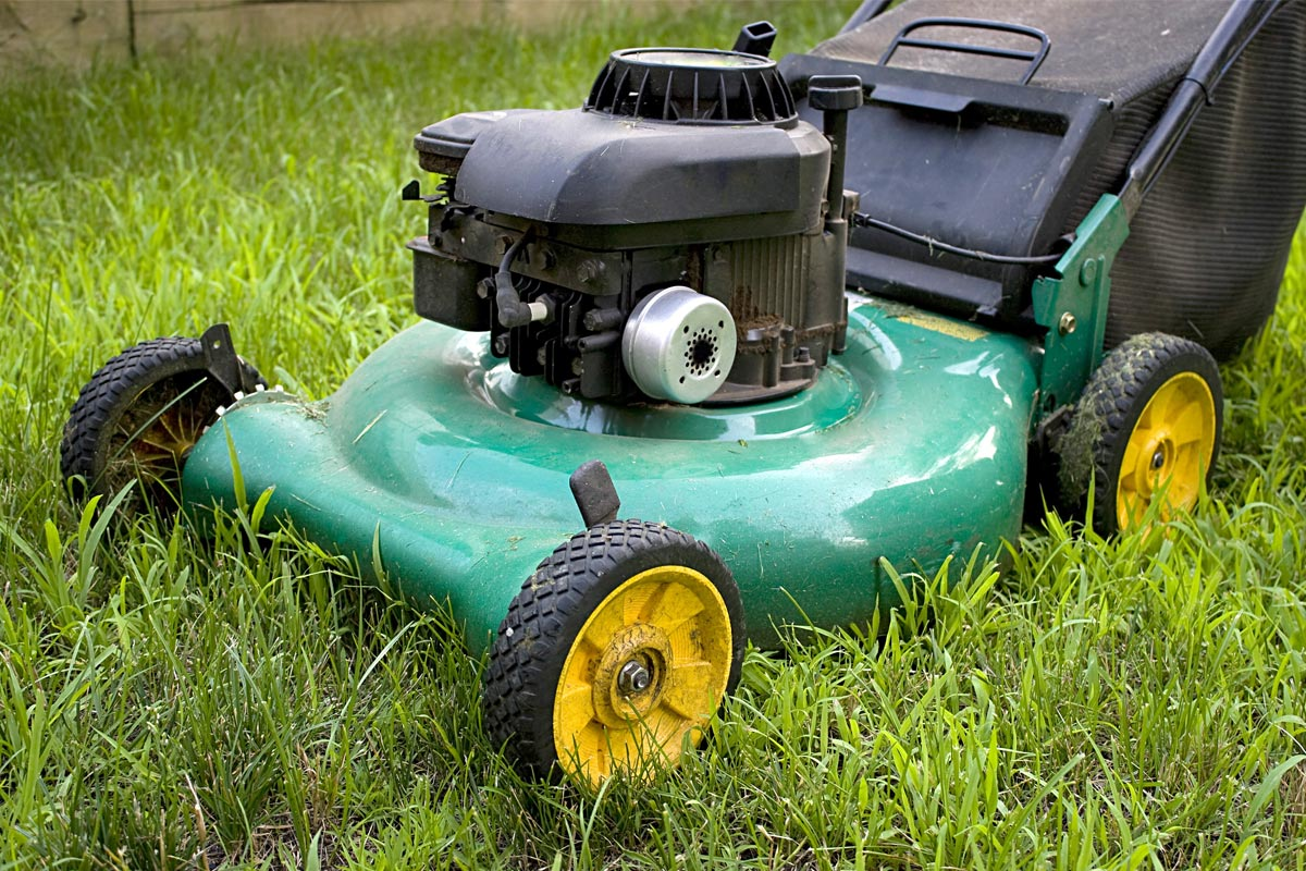 used equipment lawn mower